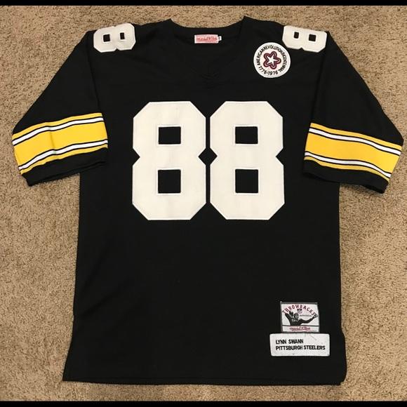 free shipping a4ffc 9660f Pittsburgh Steelers Jersey Lynn Swann size 48